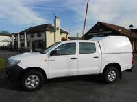 Toyota Hi-Lux HL2 D-4D DCB 4x4 Truck * Only 67K Miles *