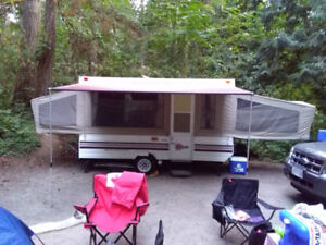 1993 12ft Tent Trailer -TONS of Space!