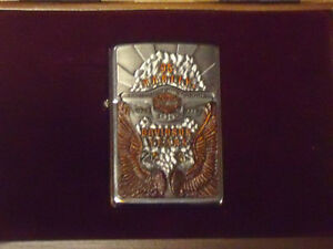 HARLEY DAVIDSON 95TH ANNIVERSARY ZIPPO LIGHTER London Ontario image 1