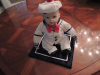 """Matthew"" Porcelain Doll from Edwin M. Knowles"