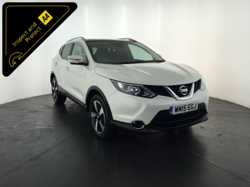 2015 NISSAN QASHQAI N-TEC + DCI 1 OWNER NISSAN SERVICE HISTORY FINANCE PX