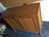 Laura Ashley solid oak chest