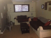 Beautiful 1 huge bedroom basement apartment for rent