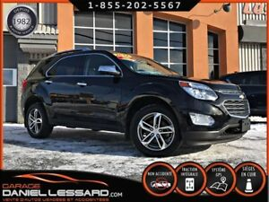 Chevrolet Equinox PREMIER AWD, GPS, CUIR 2 TONS, TOIT 2017