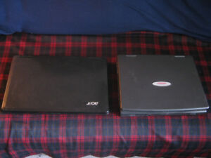 Compaq  and ACER Laptops