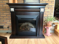 Classic Looking Fireplace - electric