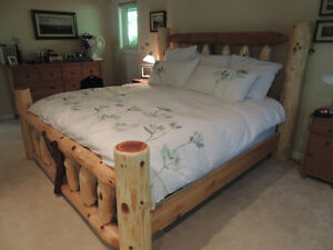 Hand crafted one of a kind real wood beds by local family Co. Comox / Courtenay / Cumberland Comox Valley Area image 4