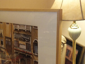 BALCONIES ON THE GRAND CANAL IN VENICE,..40'' x 28.5'' IKEA Kitchener / Waterloo Kitchener Area image 3
