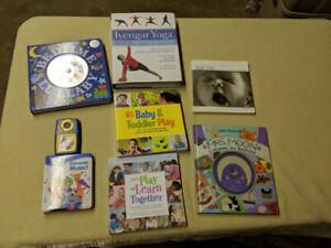 Twelve Baby Items: Music, Books, Mobile