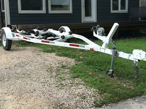 Ez loader 16-20' trailer ** trade for enclosed or dump trailer**