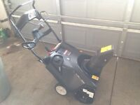 """Craftsman 21"""" Snowblower : less than a year old barely used"""