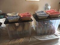 43 X Luxury gift baskets / hampers inc Storage