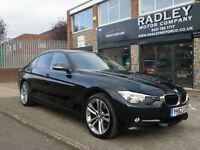 2012 BMW 320 2.0TD ( 184bhp ) ( s/s ) D Sport 4DR 62 REG DIESEL BLACK