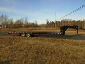 2012 30 FT KAUFMAN FLATBED TRAILER CUSTOM BUILT