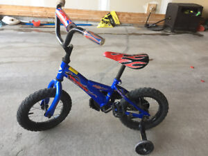 Kids 12'' bike with training wheel