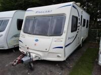 2008 Bailey Pageant Burgundy 4 Berth Fixed Bed Caravan