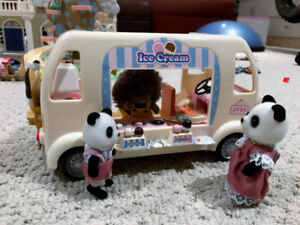 Baby Amusement Park and Ice Cream Truck