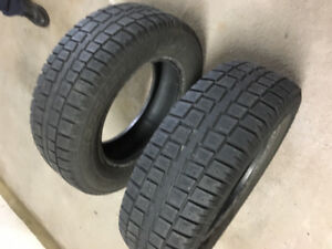 SNOW TIRES~ GOOD TREAD~MX5, 215/70 -- R-16''~ TWO AVAILABLE $75.