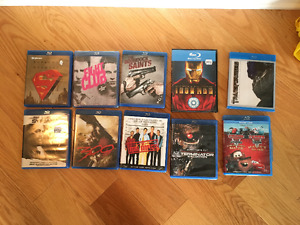 10 Misc Blu Ray Movies