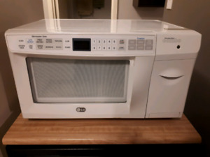 LG Microwave and Toaster Combo
