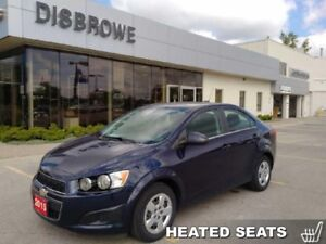 2015 Chevrolet Sonic LT  Heated Seats, Remote Start, Backup Cam