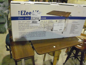 OVER THE BED ADJUSTABLE EATING TABLE
