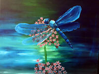 Dragonfly Paint Night pARTy