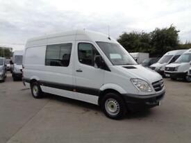 MERCEDES-BENZ SPRINTER 2.1TD | 313 CDi | MWB | MESS / WELFARE UNIT | 2013 MODEL