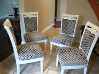 Shabby Chic Upholstered Chairs