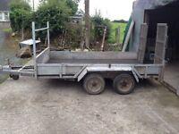 10x6 plant/builders trailer 3.5ton