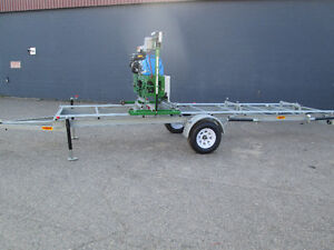 BAND SAW MILL FARMHAWK WITH 20' TRAILER PACKAGE HD MADE IN BC! Prince George British Columbia image 2