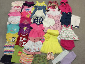 excellent condition spring-summer clothes sizes 6-9, 9-12 months