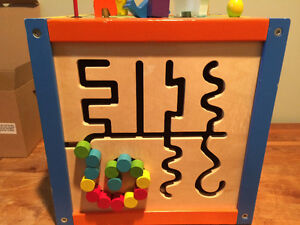 Woden activity cube for babies & toddlers