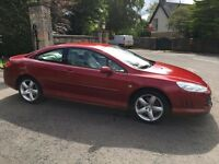 2007 PEUGEOT 407 COUPE 2.7 Bi TURBO DIESEL AUTOMATIC FULLY LOADED PX SWAP