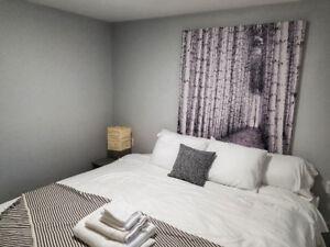 Short Term Rental Suite - Fully Furnished 1 or 2 Bedroom