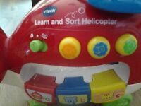 Vtech Learn and Sort Helicopter with play balls