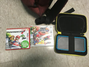 3DS XL and 2 games