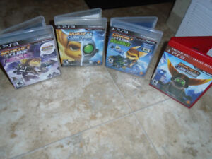PS3 - Ratchet and Clank BUNDLE