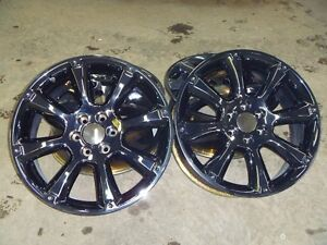 "22"" Black Chrome rims Escalade GMC Chevrolet"