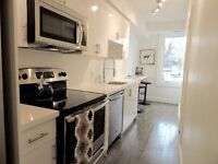3 Bedroom Apt with Laundry & Parking in Leslieville - Renovated!