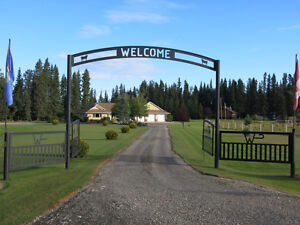 Home on 3.68 Acres  with 30x40 sq ft Shop  Sundre  MLS CA0091370