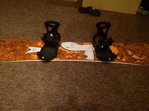 Snow Board, bindings and boots Package deal