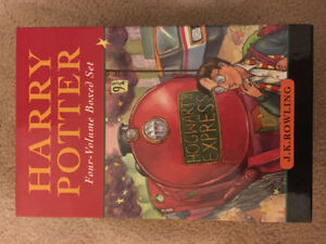 *Harry Potter* Hardcover Books 1-4 Set- UK edition