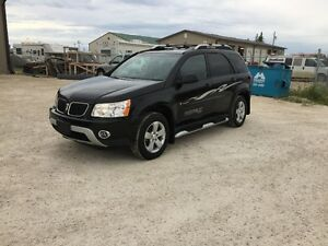2007 Pontiac Torrent GFX AWD SUV! BLACK LEATHER HEATED SEATS!