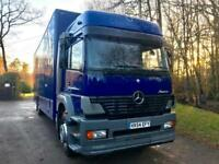 2004 54 Mercedes-Benz Atego 18 Ton 28 Ft Removal Truck