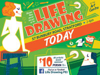 Sunday life drawing sessions (age 18+ or parents permission)