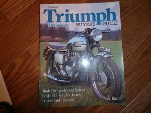 TRIUMPH MOTORCYCLE BOOKS - INDIVIDUALLY PRICED Kitchener / Waterloo Kitchener Area image 3