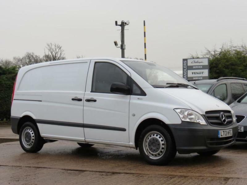 MERCEDES VITO 2.1 116 CDI BLUEEFFICIENCY 163 BHP DIESEL 2013/ 13 WHITE