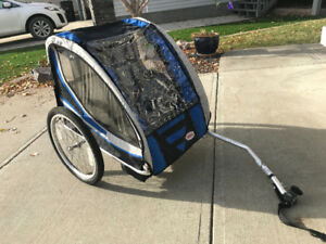 Two seater Bike Chatiot/Trailer- MINT CONDITION