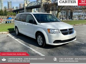2012 Dodge Grand Caravan SE + SPRING CLEARANCE + LOCAL!